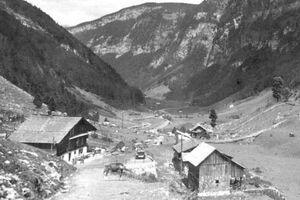 Bild von Schönboden im Bisisthal
