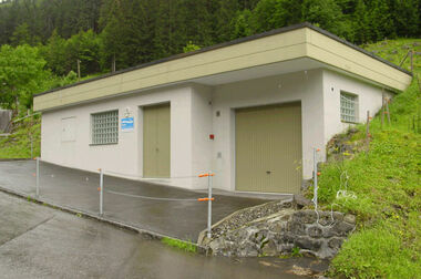 Bild Gebäude Filteranlage