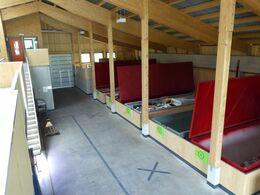 Bild mit Abteilungen Altholz und Bauschutt